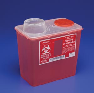 COVIDIEN/MEDICAL SUPPLIES MONOJECT™ SHARPS CONTAINERS : 8881676285 EA            $4.77 Stocked