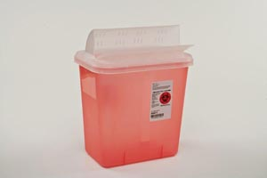 CARDINAL HEALTH MULTI-PURPOSE CONTAINERS W/HORIZONTAL-DROP OPENING : 89671 EA    $4.54 Stocked