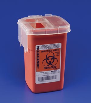 CARDINAL HEALTH PHLEBOTOMY SHARPS CONTAINERS : 8900SA EA            $2.11 Stocked