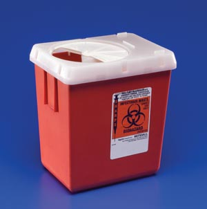 CARDINAL HEALTH PHLEBOTOMY SHARPS CONTAINERS : 1525SA CS                 $111.80 Stocked