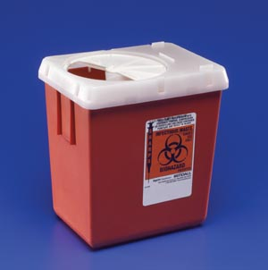 CARDINAL HEALTH PHLEBOTOMY SHARPS CONTAINERS : 1522SA EA $2.94 Stocked