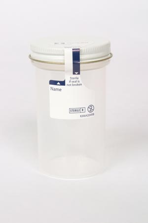 COVIDIEN/MEDICAL SUPPLIES PRECISION PREMIUM STERILE SPECIMEN CONTAINERS : 2200SA BX         $18.44 Stocked
