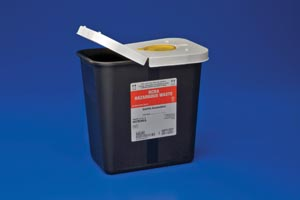CARDINAL HEALTH RCRA HAZARDOUS WASTE CONTAINERS : 8602RC CS     $172.12 Stocked