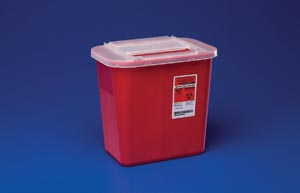 CARDINAL HEALTH SHARPS CONTAINERS : 31143699 EA $3.18 Stocked