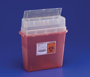 CARDINAL HEALTH TORTUOUS PATH SHARPS CONTAINERS : 31144010 EA $3.38 Stocked