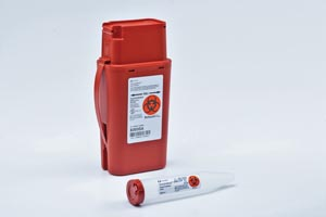 CARDINAL HEALTH TRANSPORTABLE SHARPS CONTAINERS : 8303SA CS     $77.74 Stocked