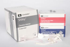 COVIDIEN/RESPIRATORY & MONITORING SHILEY TRACHEOSTOMY TUBES : 4DCT BX