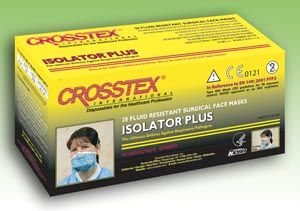 CROSSTEX ISOLATOR PLUS N95 PARTICULATE RESPIRATOR : GPRN95 BX               $37.96 Stocked