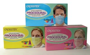 CROSSTEX PROCEDURAL EARLOOP MASK : GCPPK CTN $96.20 Stocked