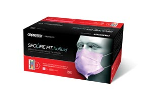 CROSSTEX SECUREFIT ISOFLUID FACE MASK : GCIPKSF CTN         $97.50 Stocked