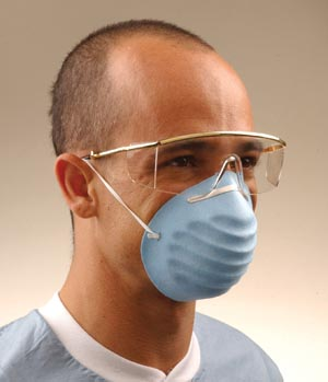 CROSSTEX SURGICAL MOLDED FACE MASK : GCPK BX $10.28 Stocked
