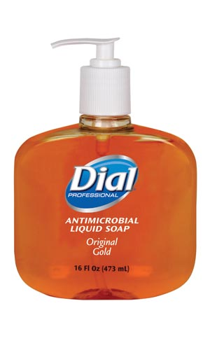 DIAL GOLD ANTIMICROBIAL LIQUID HAND SOAP : 80790 CS         $53.92 Stocked