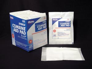 DUKAL ABD PADS : 5590 TR $3.88 Stocked