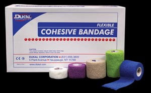 DUKAL COHESIVE BANDAGES : 8015AS EA $0.40 Stocked