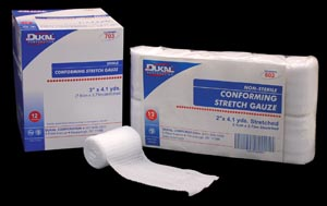DUKAL CONFORMING STRETCH GAUZE : 703 BX                       $4.46 Stocked
