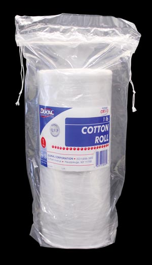 DUKAL COTTON ROLL : CR1-12 CS