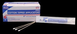 DUKAL COTTON TIPPED APPLICATORS : 9016 BX $4.01 Stocked