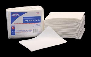 DUKAL DRY WASH CLOTHS : 7710 BG $2.19 Stocked