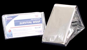 DUKAL EMERGENCY BLANKETS : 721 EA $0.55 Stocked