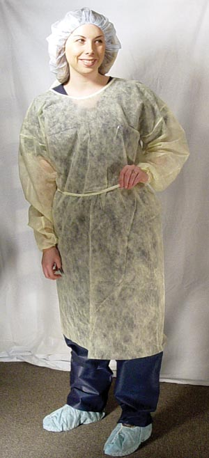 DUKAL ISOLATION GOWNS : 301BL CS
