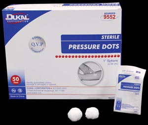 DUKAL PRESSURE DOTS : 9552 BX                       $4.07 Stocked