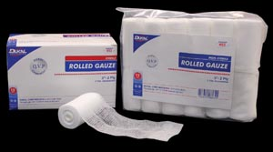 DUKAL ROLLED GAUZE : 402 CS                       $22.88 Stocked