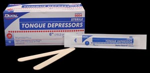 DUKAL TONGUE DEPRESSORS : 9001 CS                       $42.12 Stocked