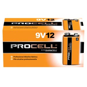 DURACELL PROCELL ALKALINE BATTERY : PC1604BKD BX $12.17 Stocked