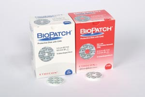 ETHICON BIOPATCH™ ANTIMICROBIAL DRESSING : 4152 BX                $125.32 Stocked