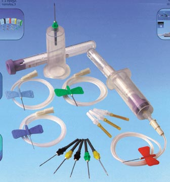 EXEL VACULET BLOOD COLLECTION SET : 26764 CS $87.00 Stocked