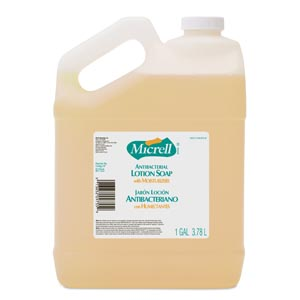 GOJO MICRELL ANTIBACTERIAL LOTION SOAP : 9755-04 CS   $54.76 Stocked