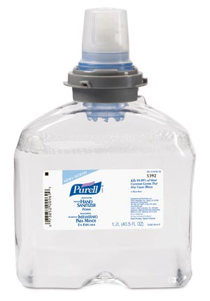 GOJO PURELL ADVANCED INSTANT HAND SANITIZER : 5392-02 CS                       $71.19 Stocked