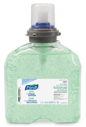 GOJO PURELL ADVANCED INSTANT HAND SANITIZER : 5457-04 CS   $69.59 Stocked