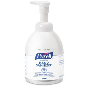 GOJO PURELL ADVANCED INSTANT HAND SANITIZER : 5792-04 EA $19.19 Stocked