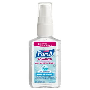 GOJO PURELL ADVANCED INSTANT HAND SANITIZER : 9648-24 EA $3.20 Stocked