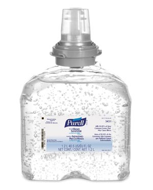 GOJO PURELL ADVANCED INSTANT HAND SANITIZER : 5451-04 CS