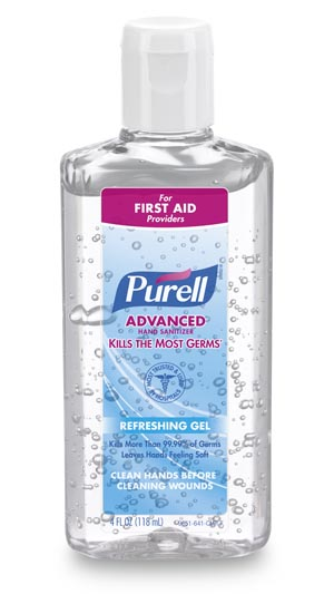 GOJO PURELL ADVANCED INSTANT HAND SANITIZER : 9651-24 EA $2.21 Stocked