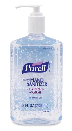 GOJO PURELL ADVANCED INSTANT HAND SANITIZER : 9652-12 EA             $4.06 Stocked