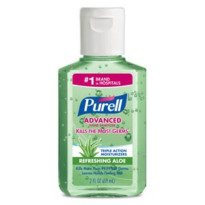 GOJO PURELL ADVANCED INSTANT HAND SANITIZER : 9682-24 CS