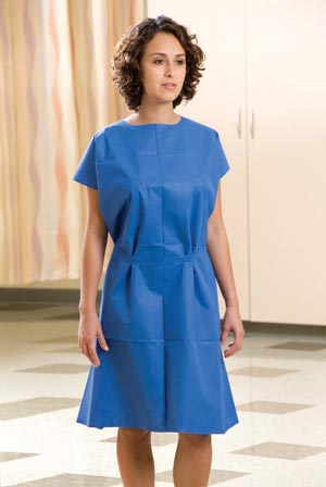 GRAHAM MEDICAL NON-WOVEN EXAMINATION GOWN : 234 CS                       $42.90 Stocked