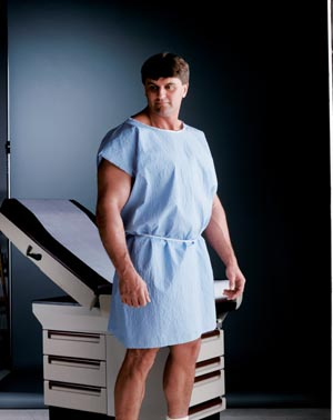 GRAHAM MEDICAL REINFORCED TISSUE GOWNS : 260 CS