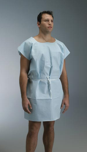 GRAHAM MEDICAL TISSUE/POLY/TISSUE EXAMINATION GOWN : 231 CS $29.89 Stocked