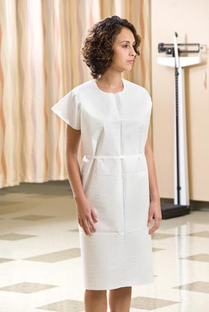 GRAHAM MEDICAL TISSUE/POLY/TISSUE EXAMINATION GOWN : 237 CS $26.98 Stocked