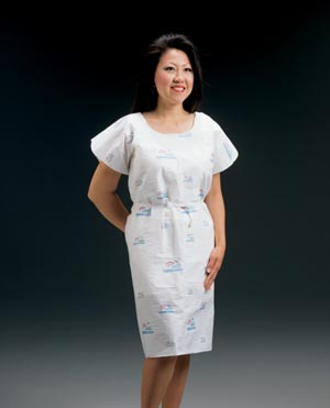 GRAHAM MEDICAL TISSUE/POLY/TISSUE EXAMINATION GOWN : 271 CS            $29.89 Stocked