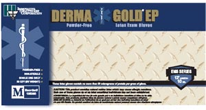 INNOVATIVE DERMAGOLD EP EMS SERIES POWDER-FREE LATEX EXAM GLOVES : 180200 CS $64.35 Stocked