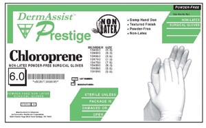 INNOVATIVE PRESTIGE CHLOROPRENE POWDER-FREE SURGICAL GLOVES : 134650 CS $106.50 Stocked