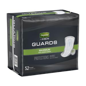 KIMBERLY-CLARK DEPEND GUARDS : 13792 PK $16.56 Stocked