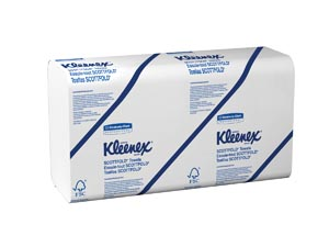 KIMBERLY-CLARK FOLDED TOWELS : 13253 PK                       $1.88 Stocked