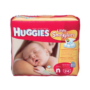 KIMBERLY-CLARK HUGGIES DISPOSABLE DIAPERS : 52238 CS $99.21 Stocked
