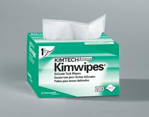 KIMBERLY-CLARK KIMWIPES : 34155 PK                       $2.43 Stocked